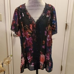 "NWOT ""ny collection"" blouse"